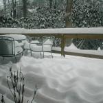 Big Snow09 day2 deck