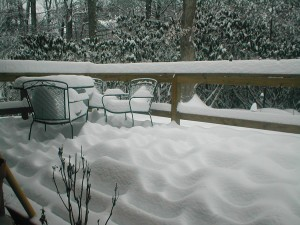 Big Snow09 day2 deck